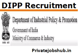 DIPP Recruitment