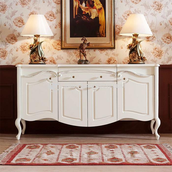 Meja Nakas Minimalis Putih Murah