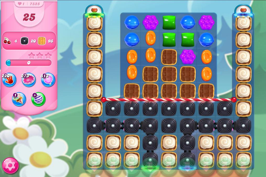 Candy Crush Saga level 7525