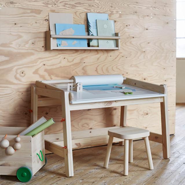 muebles mesas mobiliario infantil madera