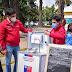 Locatarios de Molina recibieron kits de sanitización para reforzar medidas sanitarias