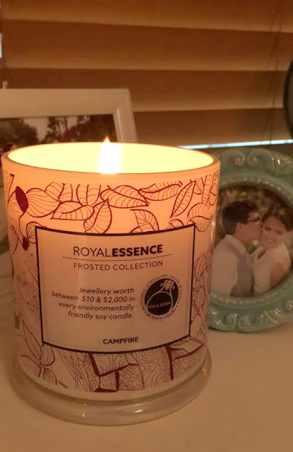 Royal Essence Ring Candle Australia