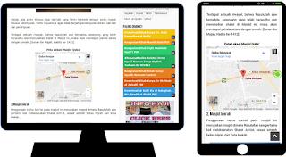 Cara Mudah Pasang Peta Google Maps Responsive Di Blog