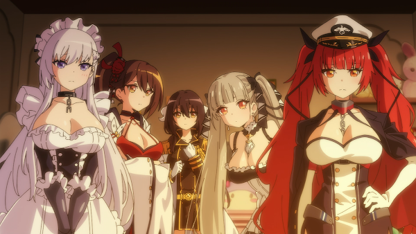 Azur Lane Bisoku Zenshin Episode 12 End Subtitle Indonesia