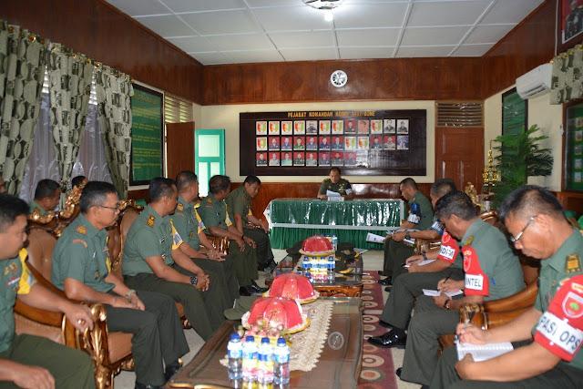 Hadapi Pilkada Serentak, Kodim 1407/ Bone Gelar Briefing Latihan Posko I