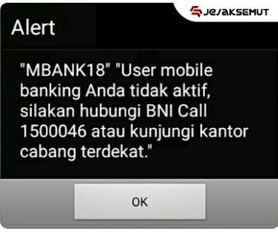 error MBANK 18 bni