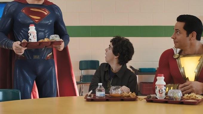 Se revela el cuerpo completo del cameo de Superman en Shazam!