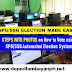 How to Vote using the Automated Supreme Pupil/Student Government Election System