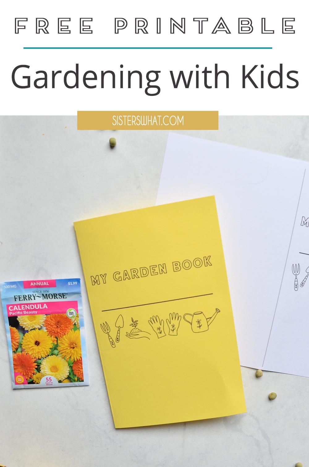 gardening with kids printable