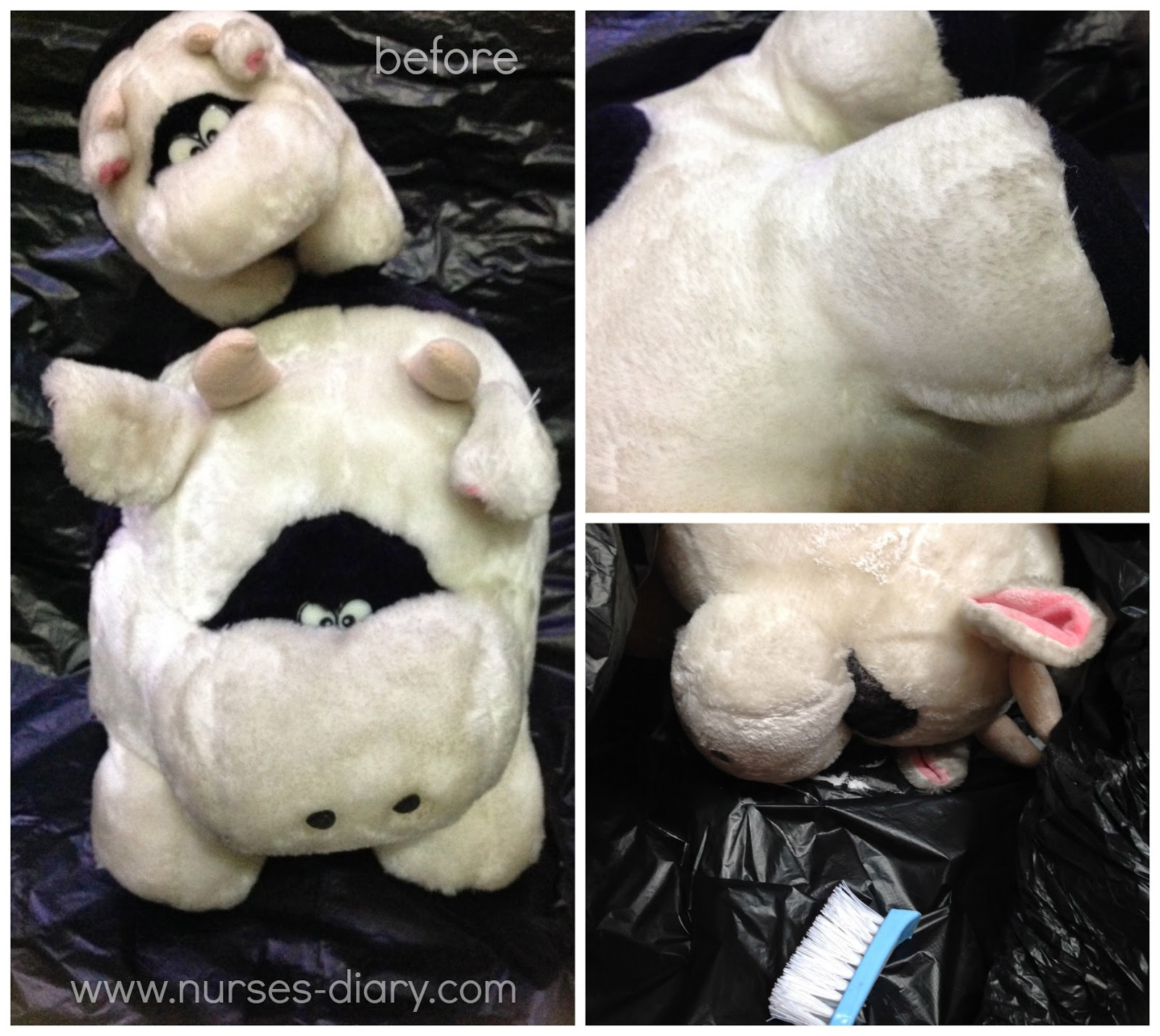 DIY : How To Dry Clean Plush Toys