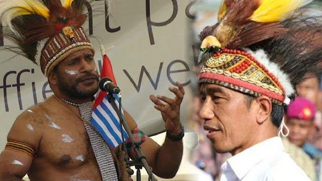 Jokowi Kini Punya Saingan 'Presiden' Papua, Tengku: Kami Tunggu Komentar Bapak
