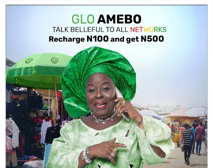 Glo Amebo - Get 5x Bonus Of Your Recharge To Call Any Network