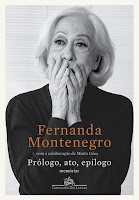 Capa do livro Prólogo, Ato, Epílogo, de Fernanda Montenegro com a colaboração com Marta Góes (Companhia das Letras)