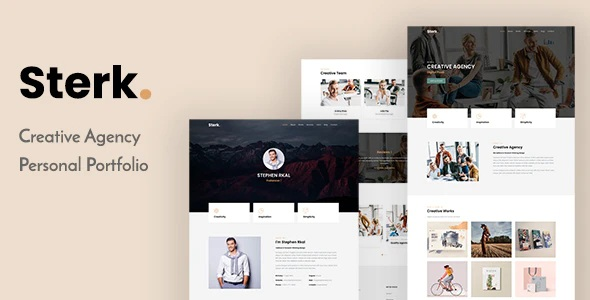 Creative Agency & Personal Theme