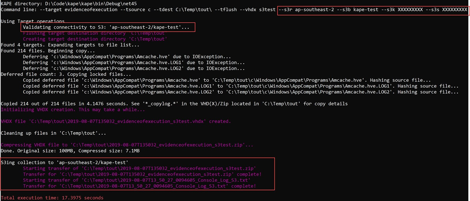 binary foray: KAPE 0 8 6 1 released