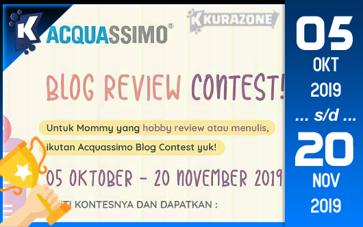 Kompetisi Blog - Acquassimo Berhadiah Total Uang Tunai 3 Juta Rupiah + FREE Acquassimo 40 ml