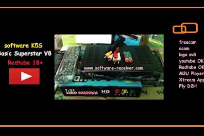 Software V8 Superstar For K5S - Support Freecam