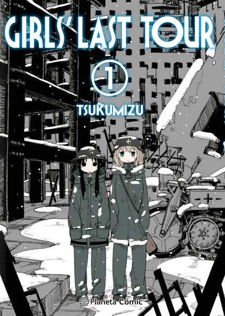 Review de Girls' Last Tour (Shôjo Shûmatsu Ryokô) de Tsukumizu, Planeta Cómic.