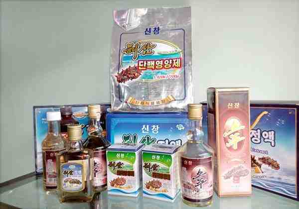 Products of the Sinchang Foodstuff Factory