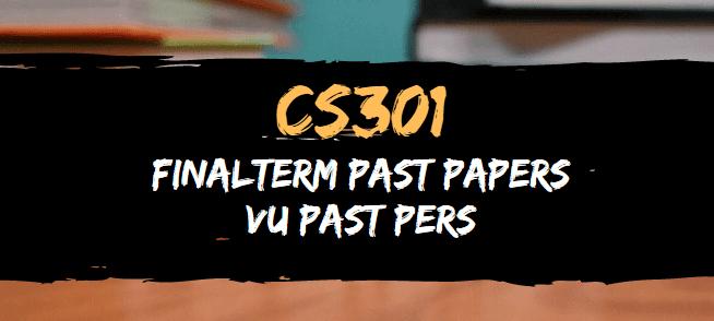 CS301 Final Term Past Papers | VU Past Papers