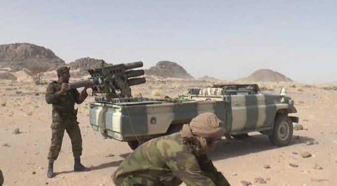 ⭕ عاجل | إستشهاد 4 مقاتلين صحراويين ومقتل عدة جنود في صفوف الإحتلال المغربي إثر إشتباكات عنيفة شمال الصحراء الغربية.