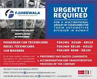 Automotive Division Requirement for Kuwait