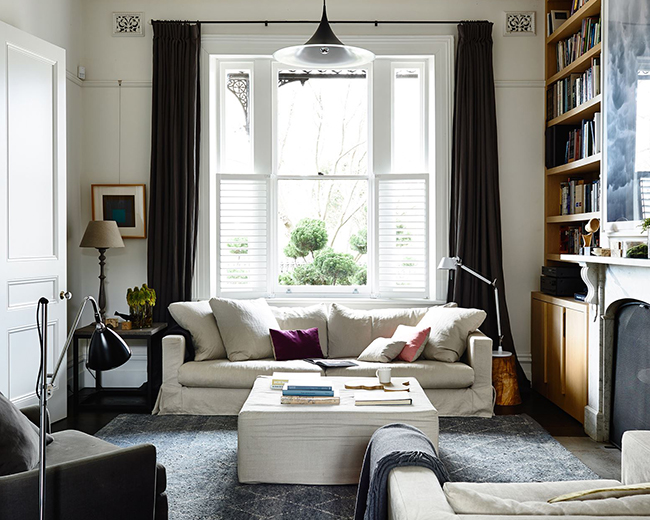 in this gorgeous gorgeous modern victorian terrace home in melbourne