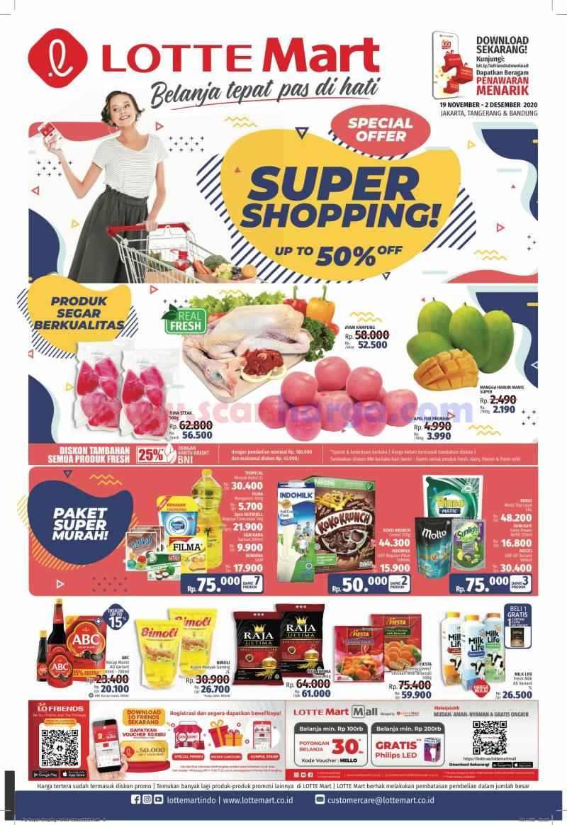 Katalog Lottemart Flyer Promo Mingguan 19 November - 2 Desember 2020
