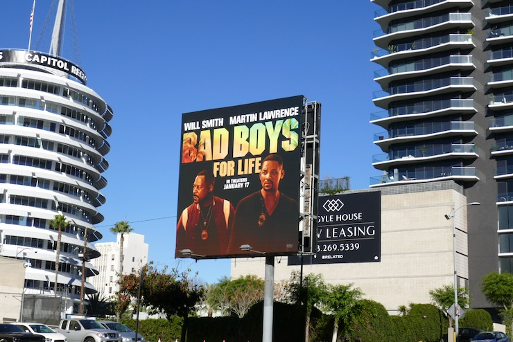 Bad Boys For Life film billboard