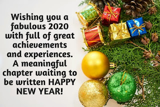 new year message 2020