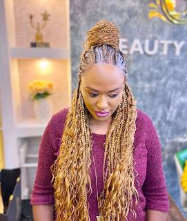 African Braids Hairstyles 2021