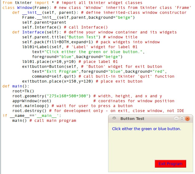 Tkinter Python Program Examples - forexstrongwind