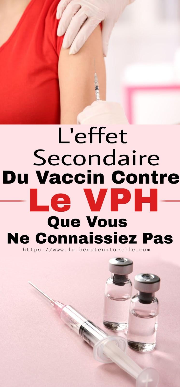 L'effet Secondaire Du Vaccin Contre Le VPH Que Vous Ne Connaissiez Pas