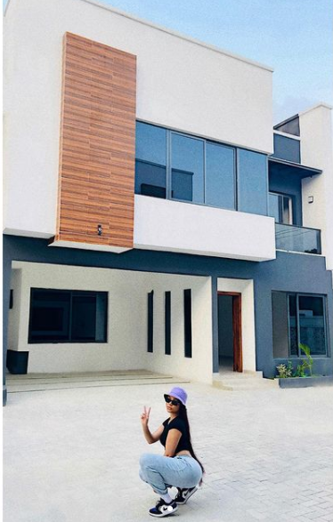 BBnaija star, Nengi buys a new mansion (Pictures)