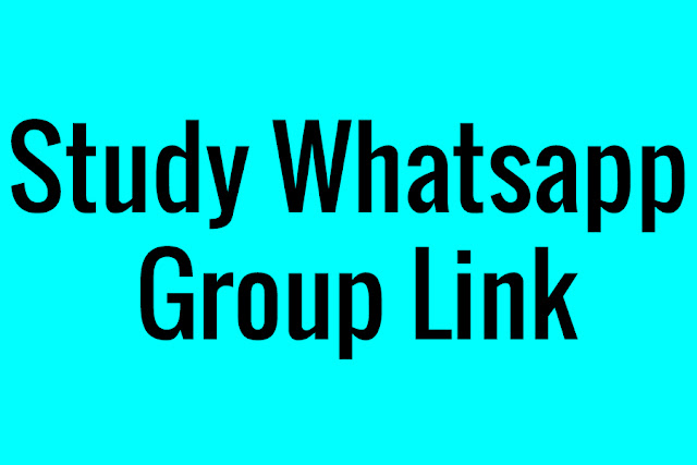 Active Study Whatsapp Group Link