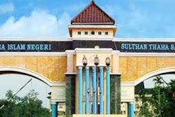 Jurusan dan Daya Tampung SPAN PTKIN Universitas Islam Negeri  Sulthan Thaha Saifuddin Jambi (UIN STS Jambi)