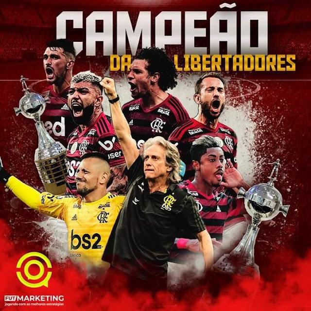 Flamengo é campeão da Libertadores da América 2019 após virada sensacional sobre o River Plate
