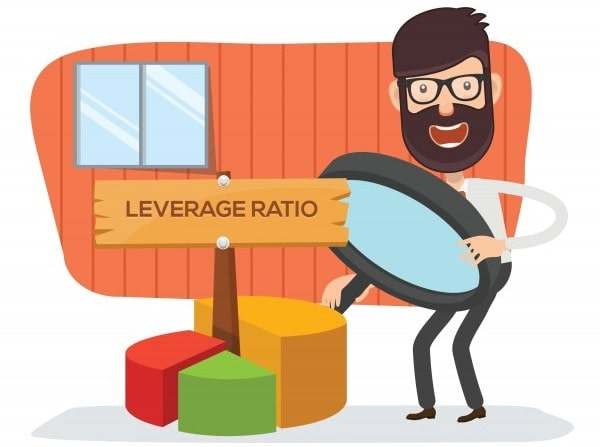 what are leverage ratios bank use company debt
