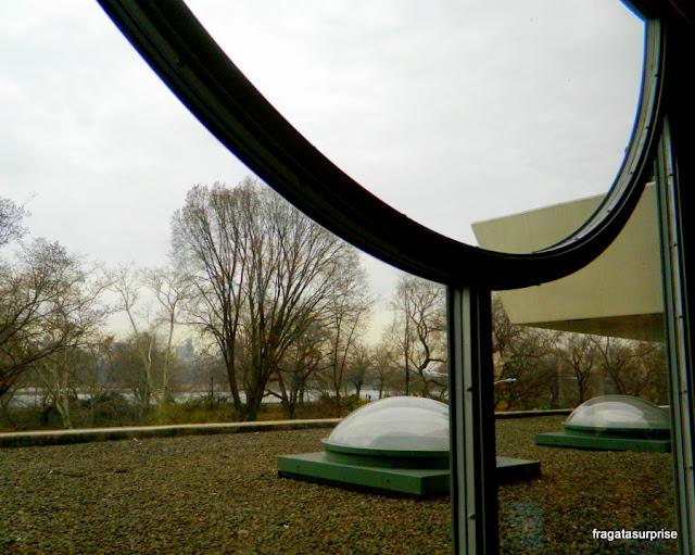 O Central Park visto de uma janela do Museu Guggenheim