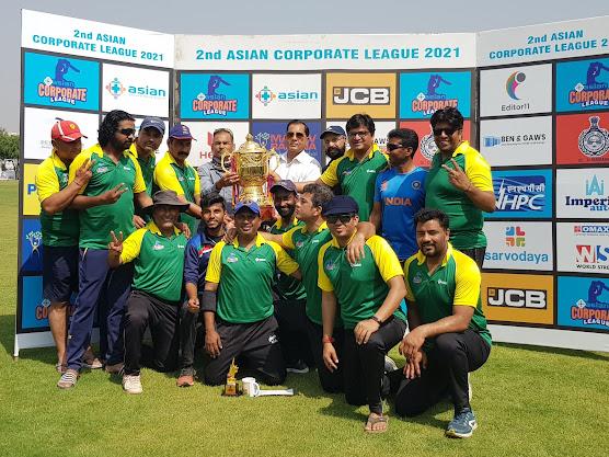 एशियन कॉरपोरेट क्रिकेट लीग का फाइनल एडिटर 11 ने जीता