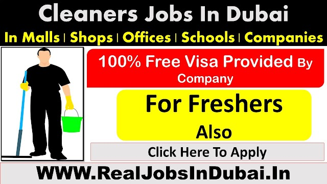 Cleaning Jobs In Dubai, Abu Dhabi & Sharjah - UAE