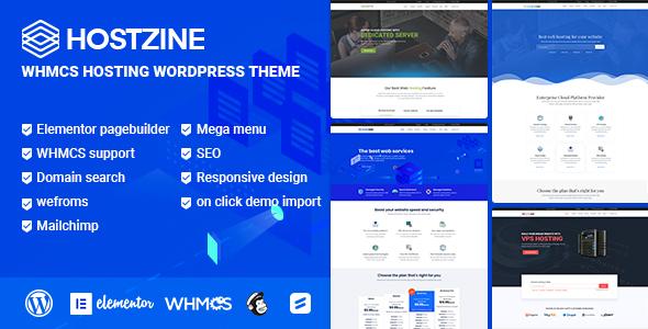 Hostzine Hosting Responsive WordPress Themes