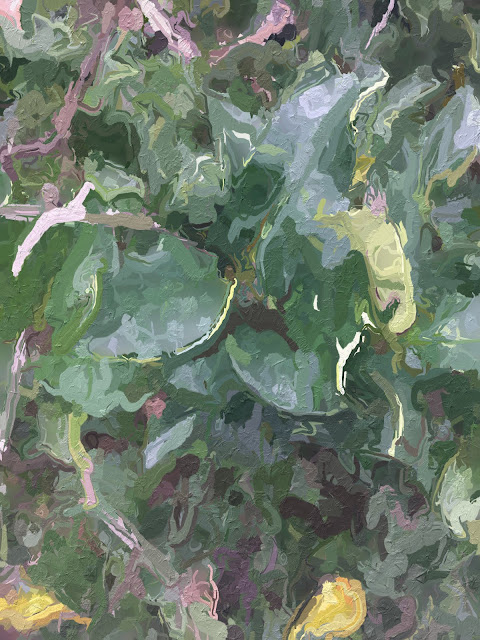 Leaves painting free photo for download and use commercially including printing
