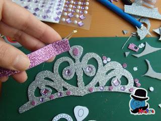 definisci i dettagli della tiara