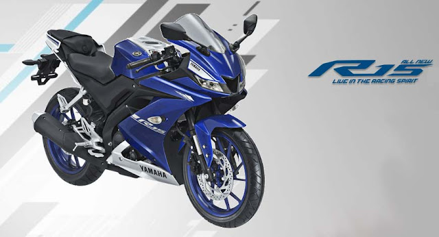 All New 2018 Yamaha  R15 V3 sport bike