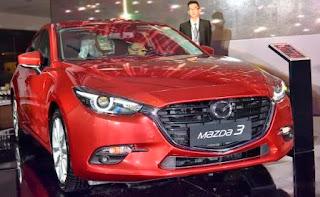 Ngoại thất không thay đổi nhiều Mazda 3 2017