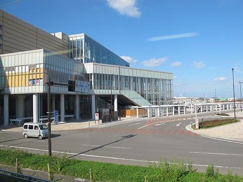 Shin Aomori Station, Aomori Prefecture, Tohoku, Japan.