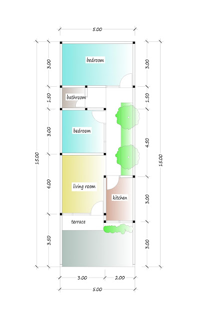 floor plan of beautiful house plan 01