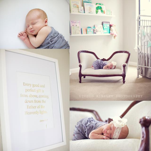 Veronika S Blushing Harper S Nursery Updated: Veronika's Blushing: Harper's Newborn Photos