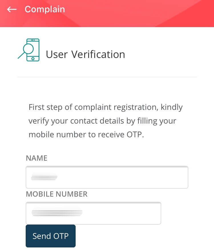 salary complaint in mohre app
